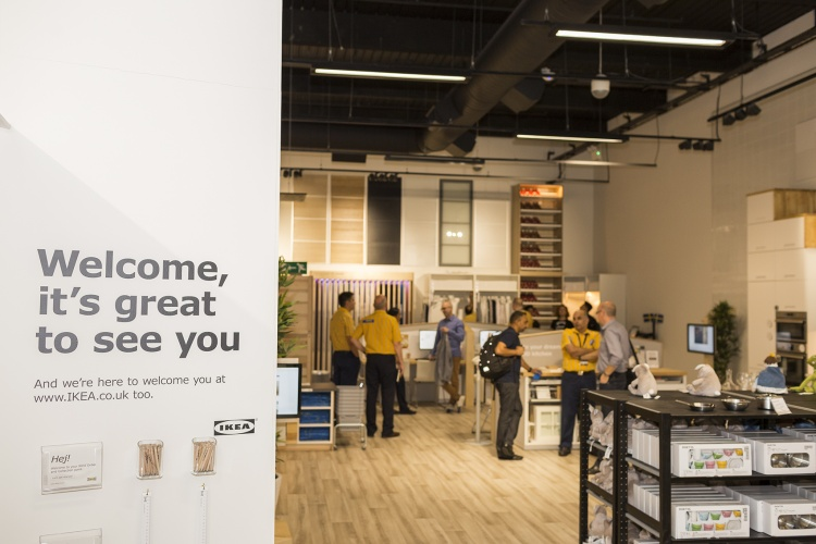 ikea rolls out convenience store concept in london design week. Black Bedroom Furniture Sets. Home Design Ideas
