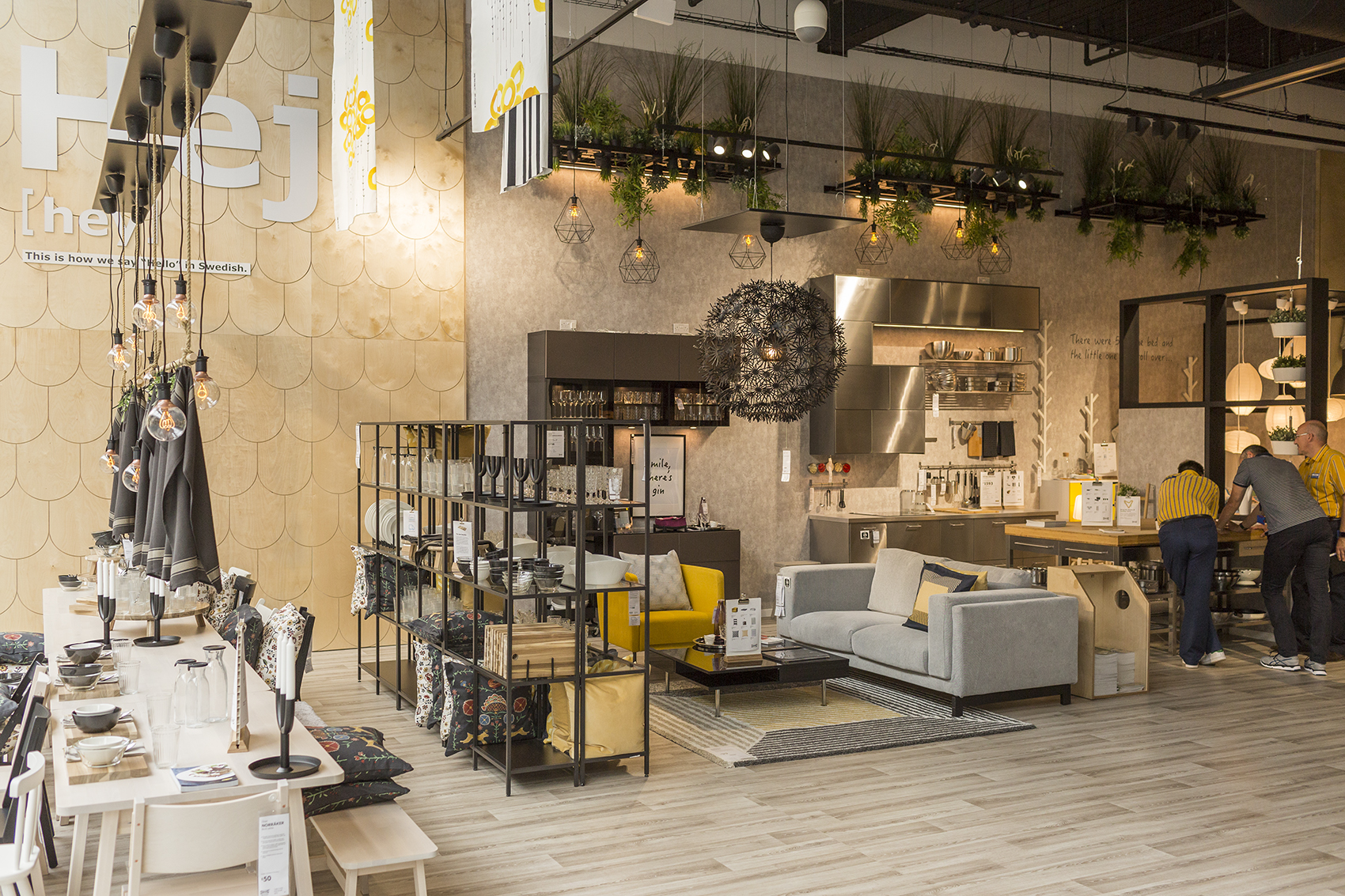 ikea rolls out convenience store concept in london. Black Bedroom Furniture Sets. Home Design Ideas