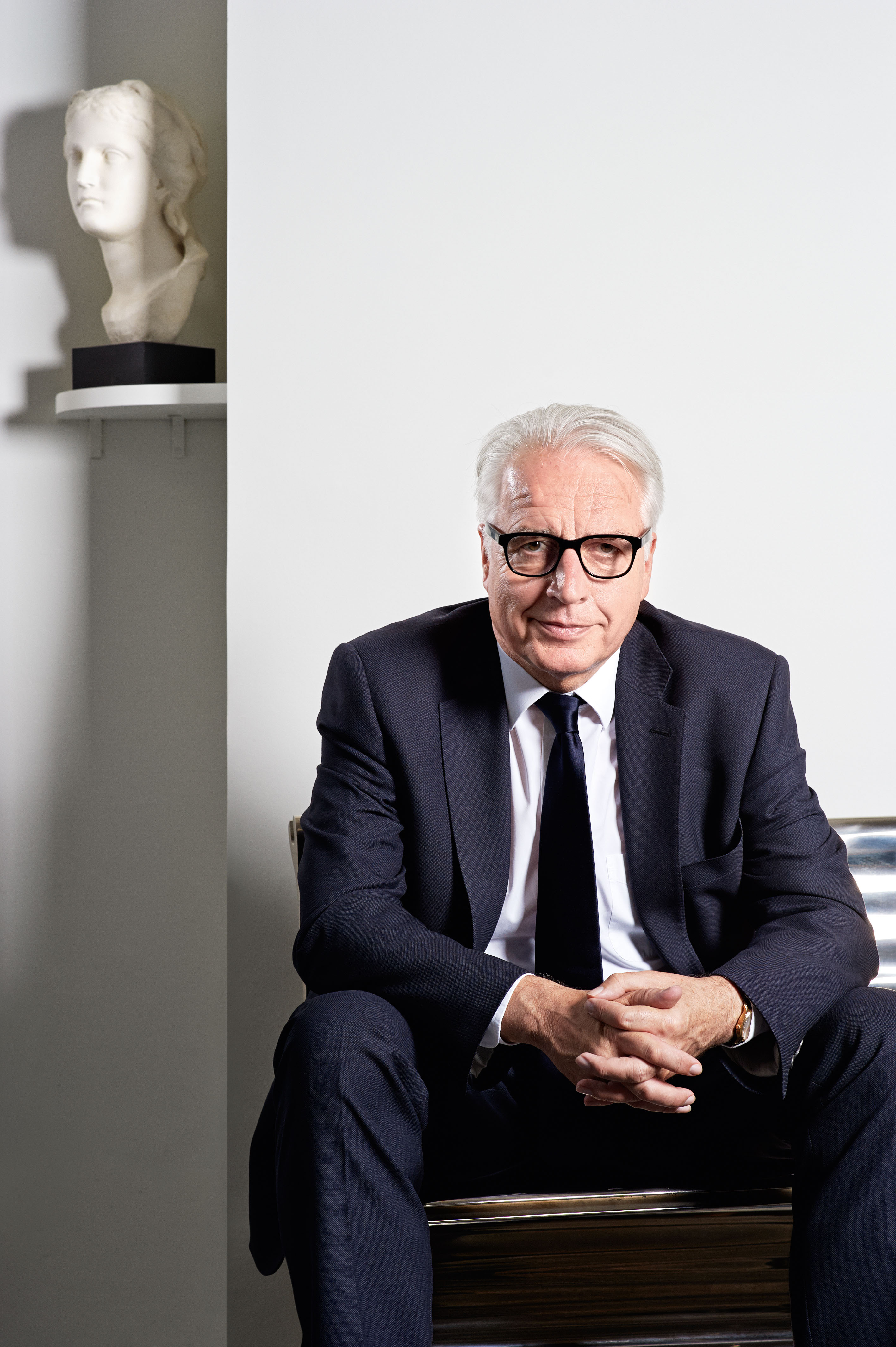Martin Roth, current director at V&A © Thierry Bal