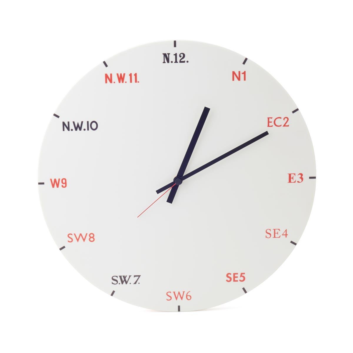 Pentagram Clock