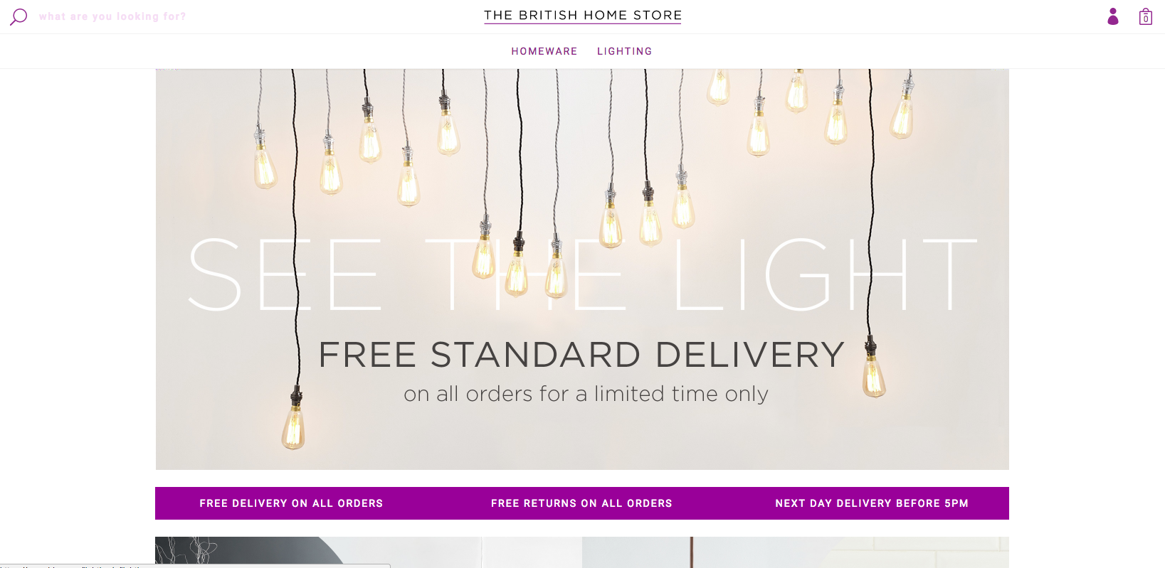 BHS returns as online store with new name - Design Week
