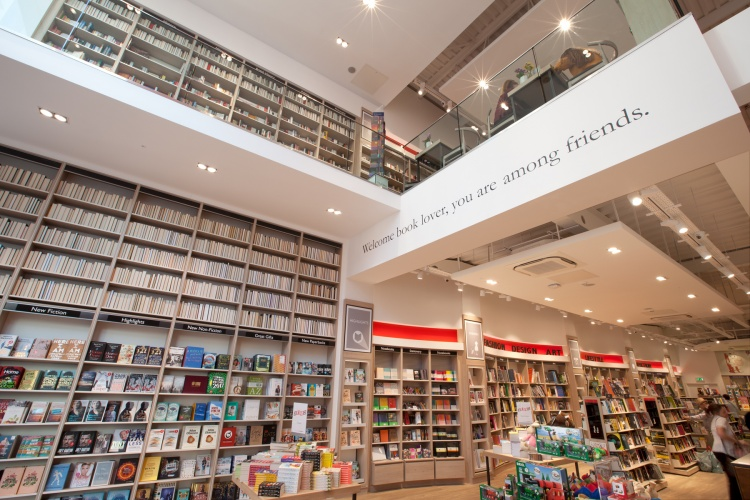 Foyles Chelmsford Store Interiors By Lustedgreen