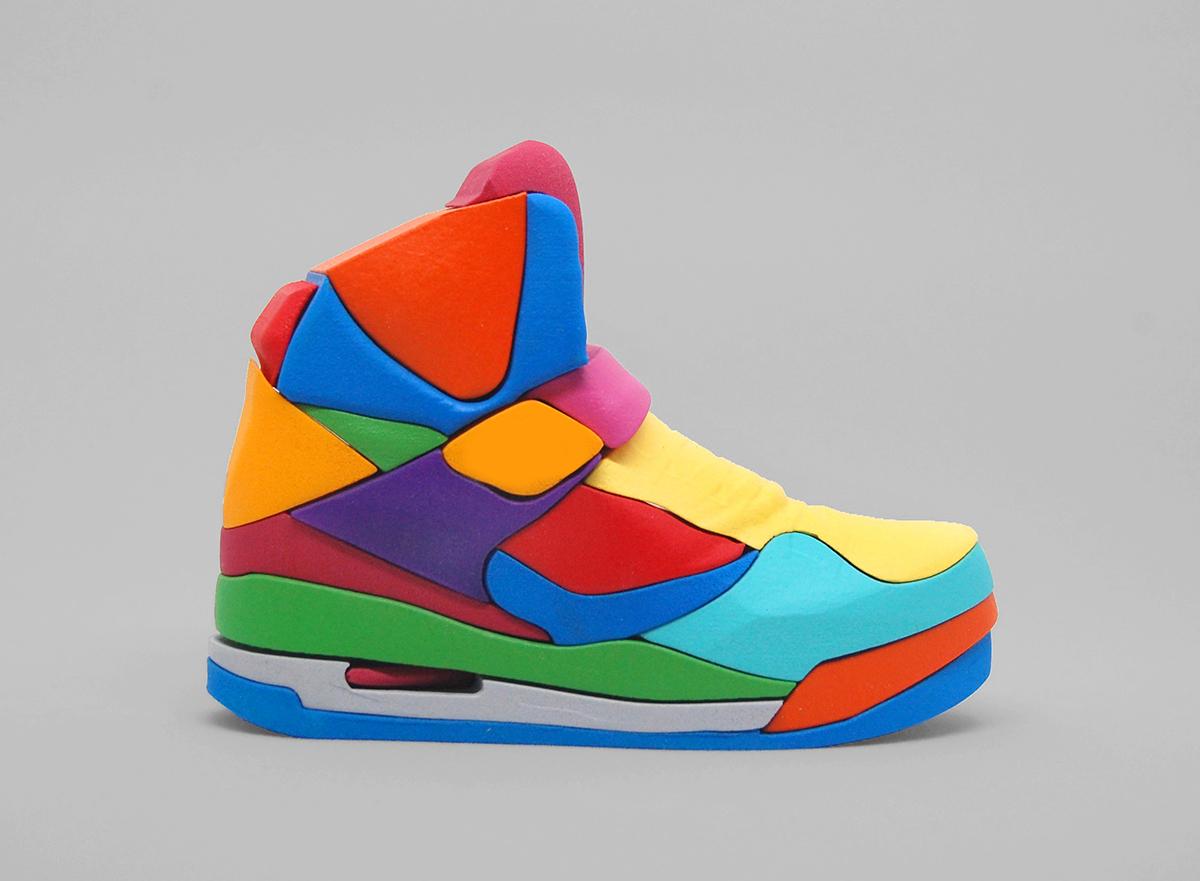 522c326c4476a2 Nike Air Jordan Flight 45 puzzle