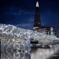 'Invisible Ripples' (London Bridge) (c) MRC and Adjaye Associates
