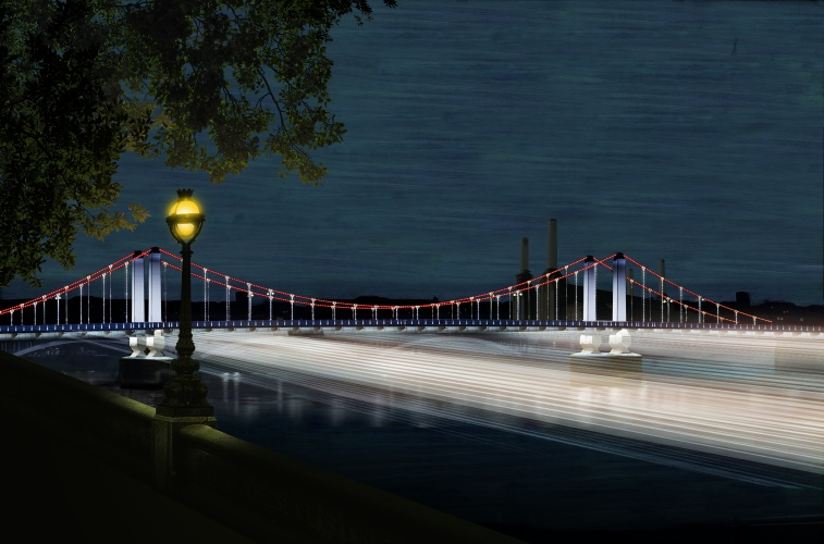 Chelsea Bridge (c) MRC and Sam Jacob Studio and Simon Heijdens