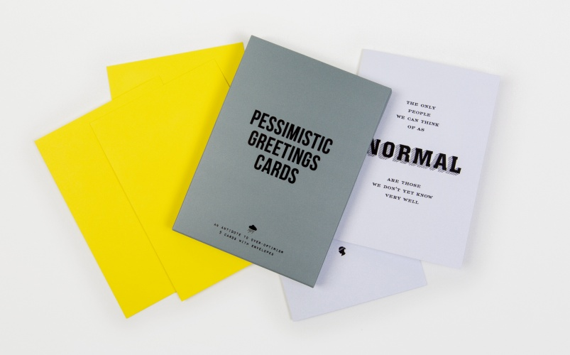 Pessimistic greetings cards by the school of life pessimisticcards01a m4hsunfo