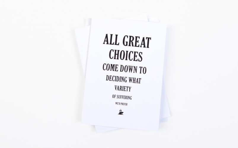 Pessimistic greetings cards by the school of life pessimisticcards07a m4hsunfo