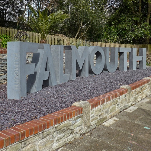 Falmouth University sign, courtesy of Flickr user Tim Green