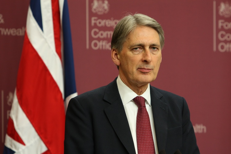 Chancellor Philip Hammond, courtesy of the Foreign and Commonwealth Office.
