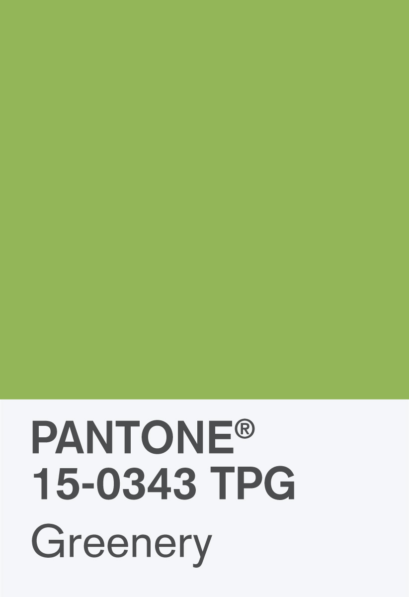 pantone names greenery as 2017 colour of the year - design week