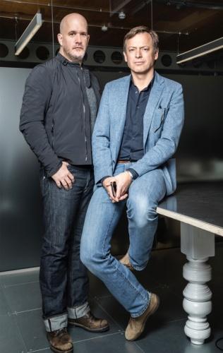 L-R: James Hilton and Morten Warren