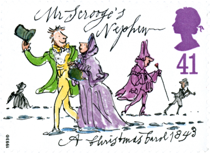 Mr Scrooge's Nephew: A Christmas Carol 1843, Quentin Blake, 1993