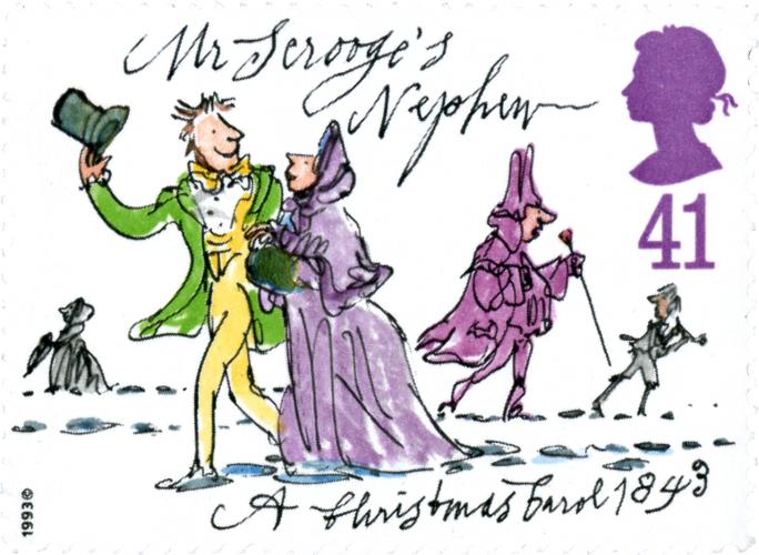 Mr Scrooge's Nephew: A Christmas Carol 1843, Quentin Blake, 1993