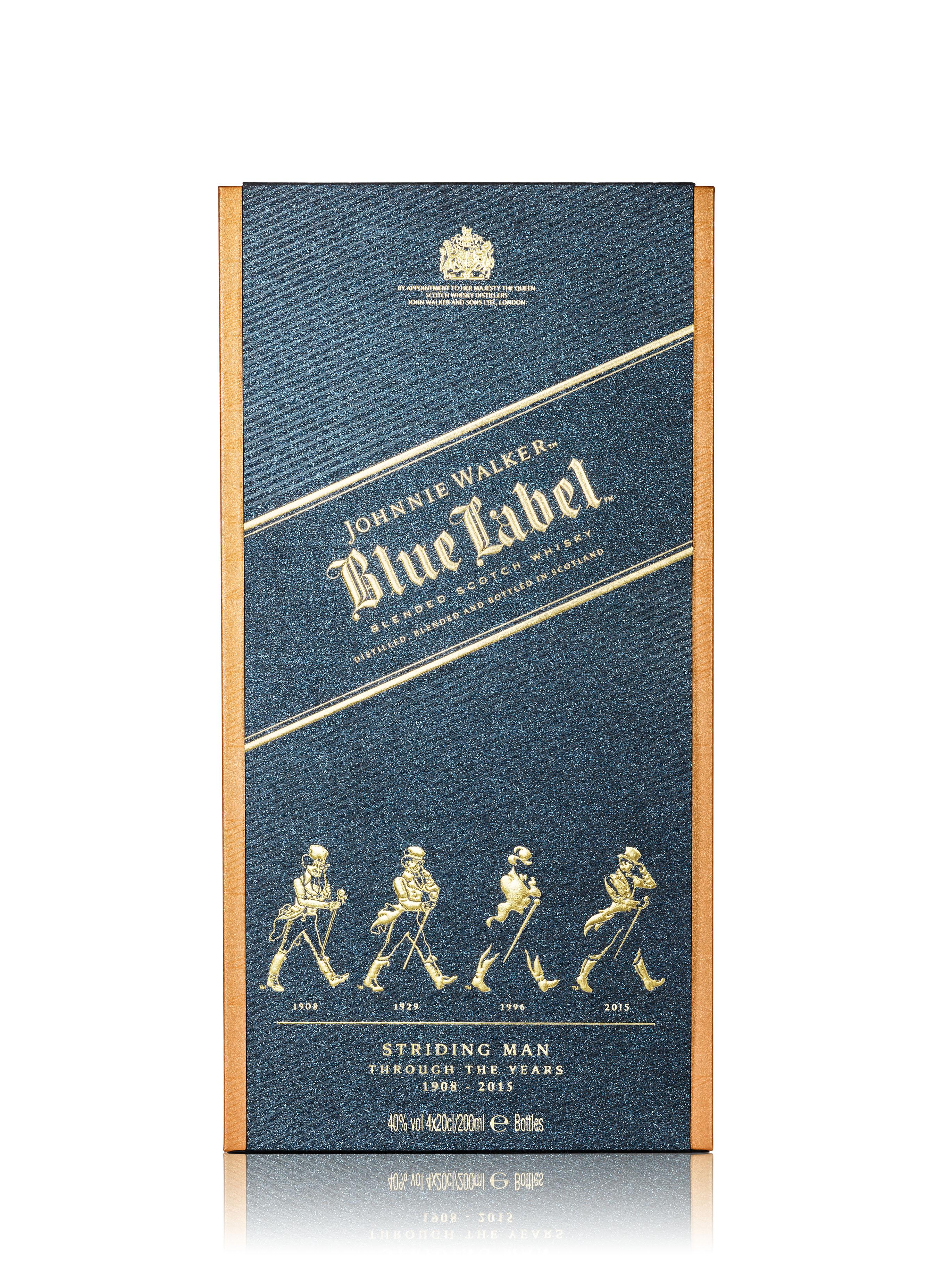 johnnie walker blue label striding man edition by johnnie walker. Black Bedroom Furniture Sets. Home Design Ideas