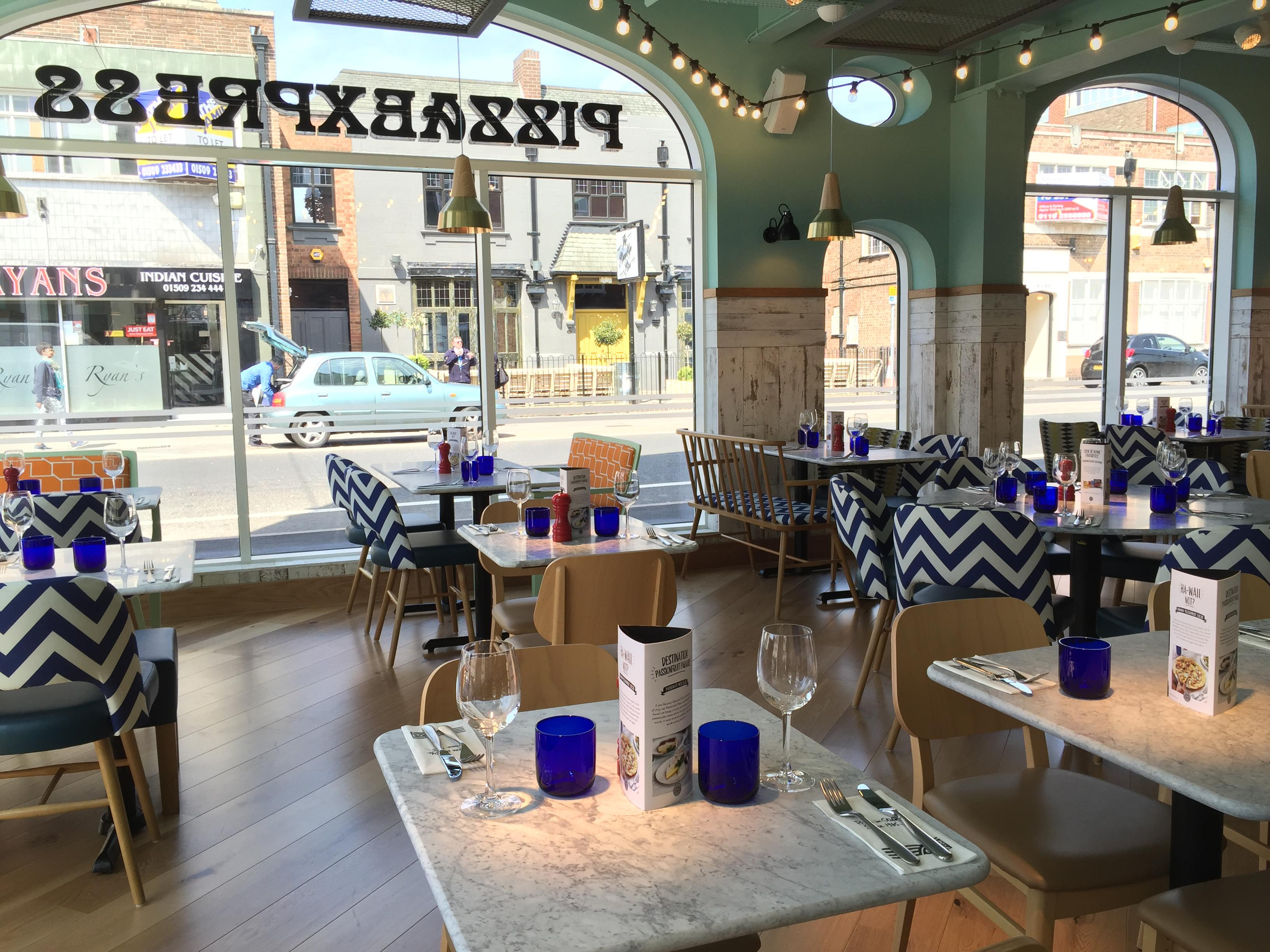 Pizzaexpress Redesigns Out Of Touch Interiors To Take On