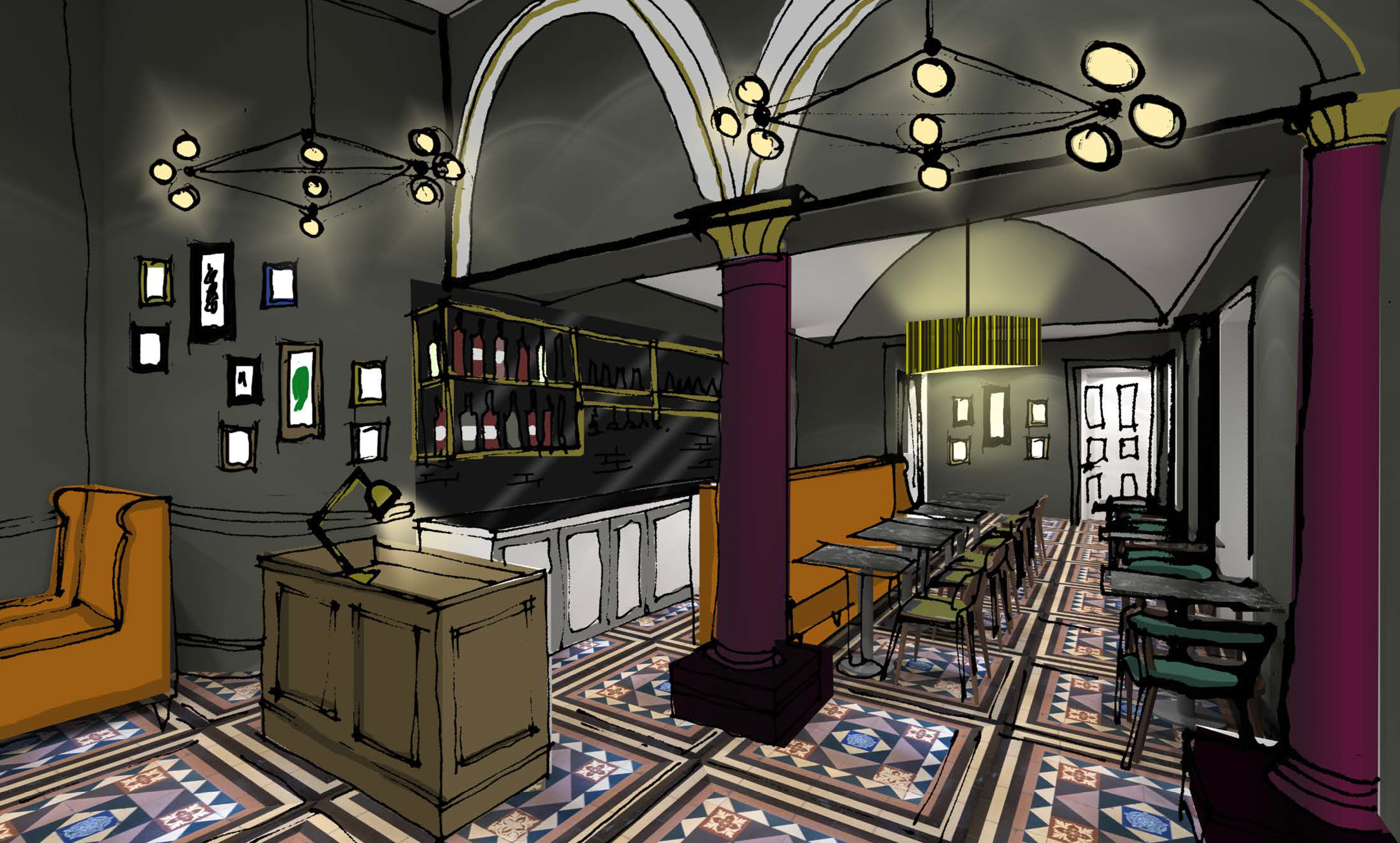 Pizzaexpress redesigns quot out of touch interiors to take on