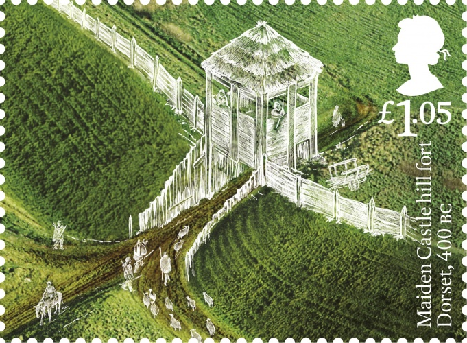 ab-maiden-castle-hill-fort-stamp-400