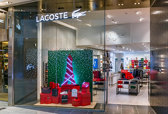 stable quality offer discounts on sale Lacoste Westfield Stratford interiors, by DesignLSM