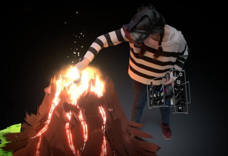 VR Volcano