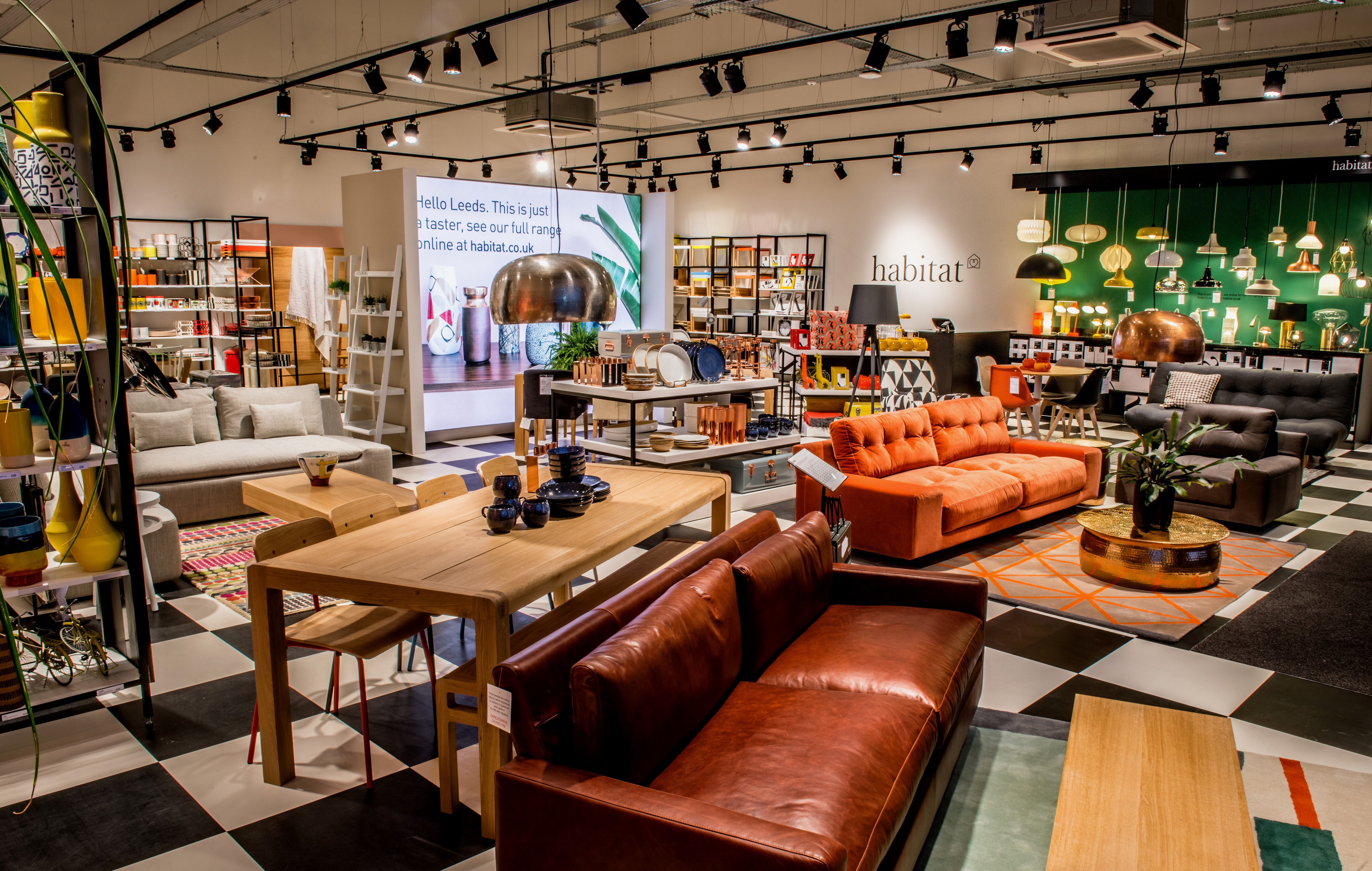 "Habitat brings its ""Mini"" store concept to the high street ..."