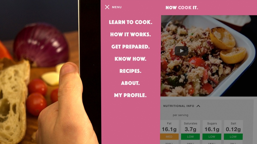 The Now Cook It site is now live and can be accessed here . | 889 x 500 jpeg 110kB
