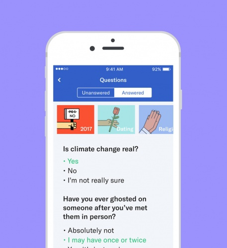 """OkCupid focuses on """"more substance than selfie"""" with app"""