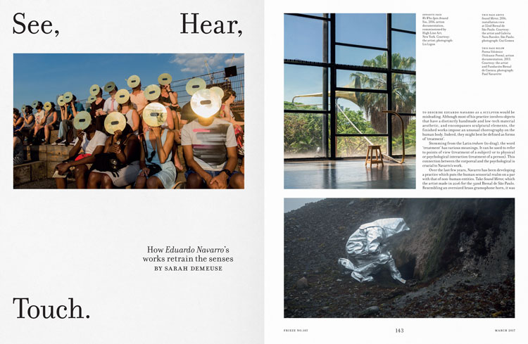 """Contemporary art magazine Frieze redesigns to be """"less beautiful ..."""