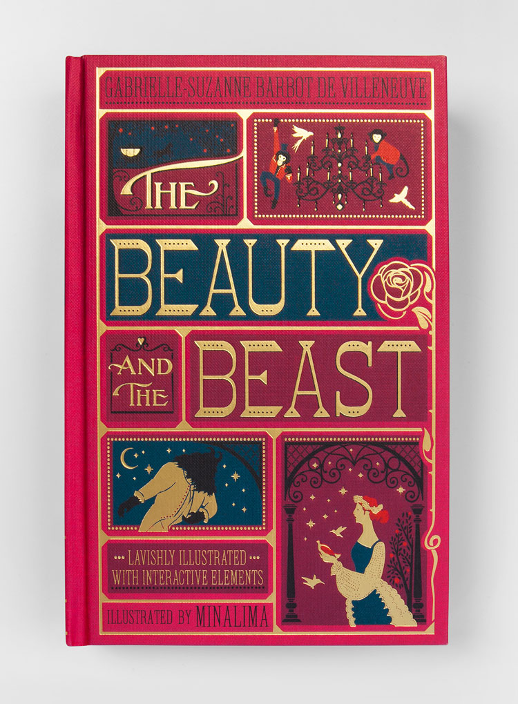 Book Cover Design Jobs Uk ~ The beauty and beast new edition by minalima