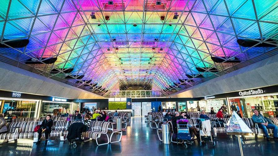Keflavik International Airport Installation By Nulty