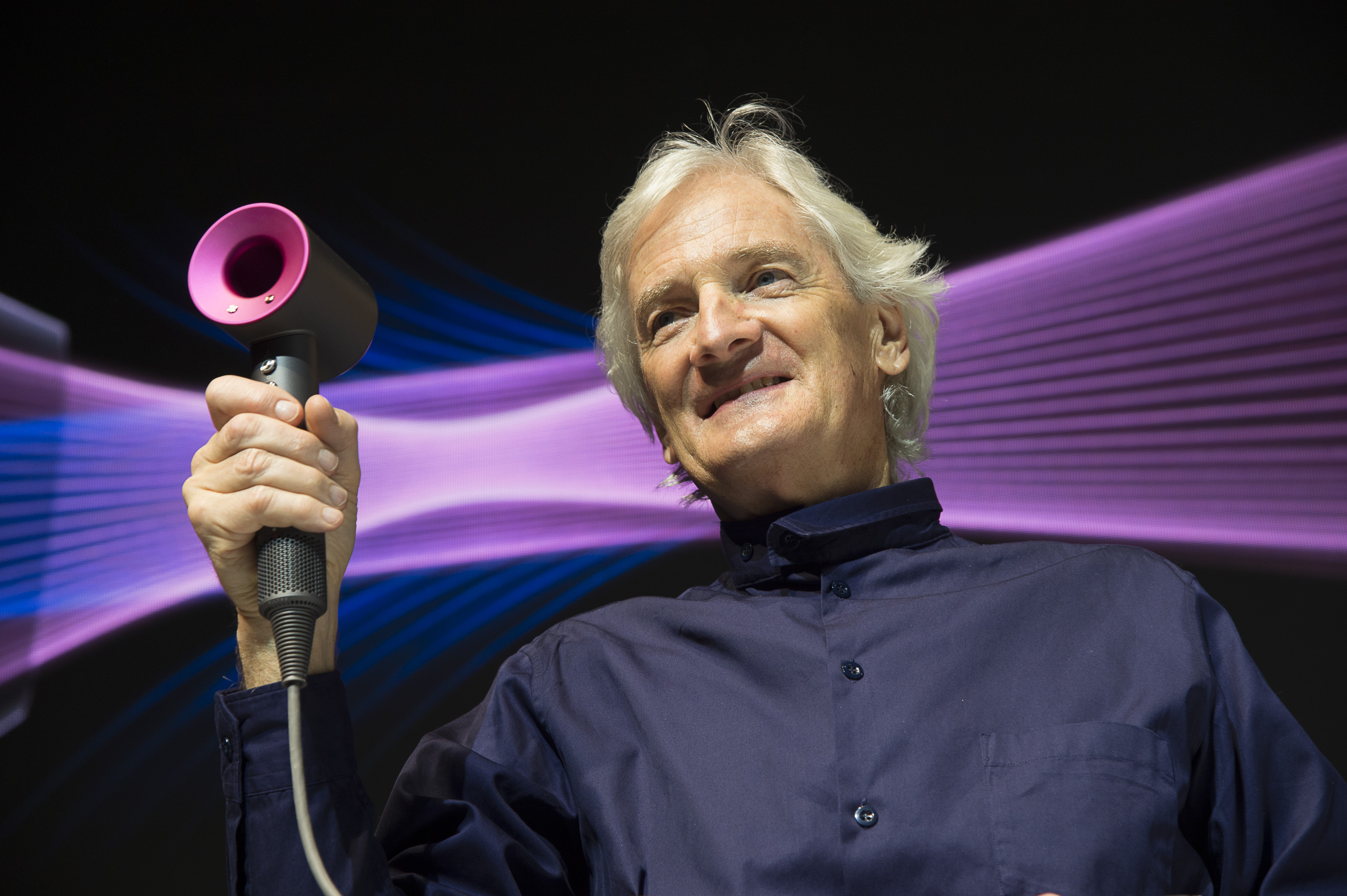 Dyson remains enormously optimistic about uk business for James dyson
