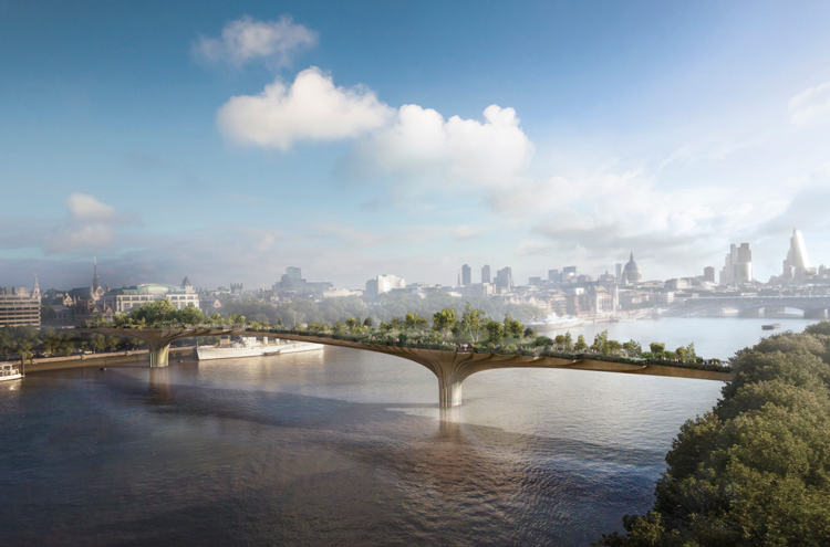 London garden bridge project officially scrapped