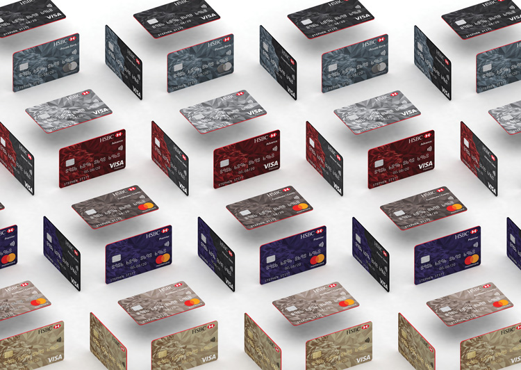 "HSBC rolls out new ""simplified"" bank card design | Design Week"