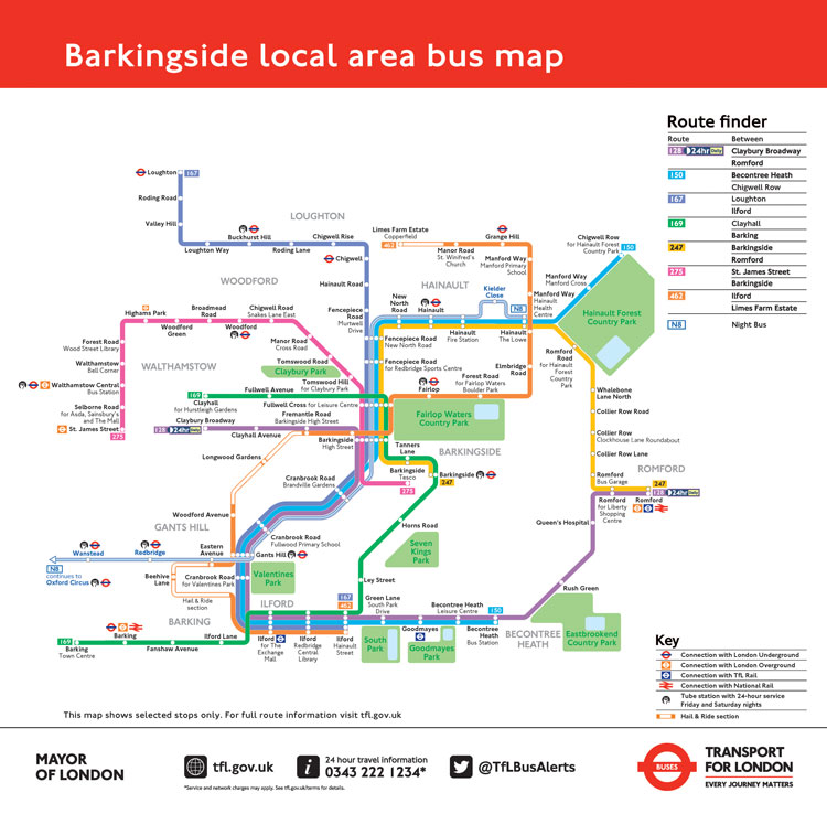 "TfL trials new ""simple"", colour-coded bus system 