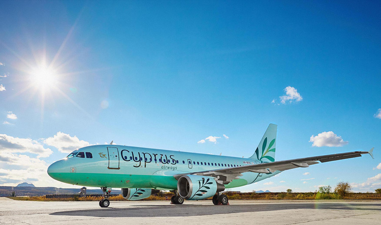 Landor gives Cyprus Airways new look drawing on country's culture