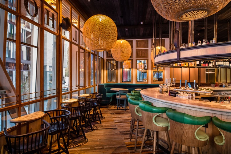 Rail House Caf Interiors By Adam White And Box 9 Design