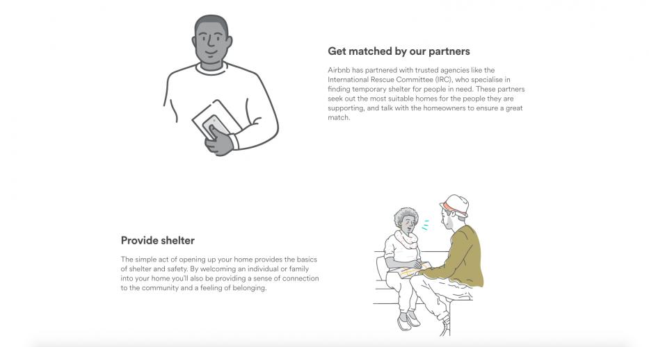 Airbnb debuts Open Homes platform for housing refugees | Design Week
