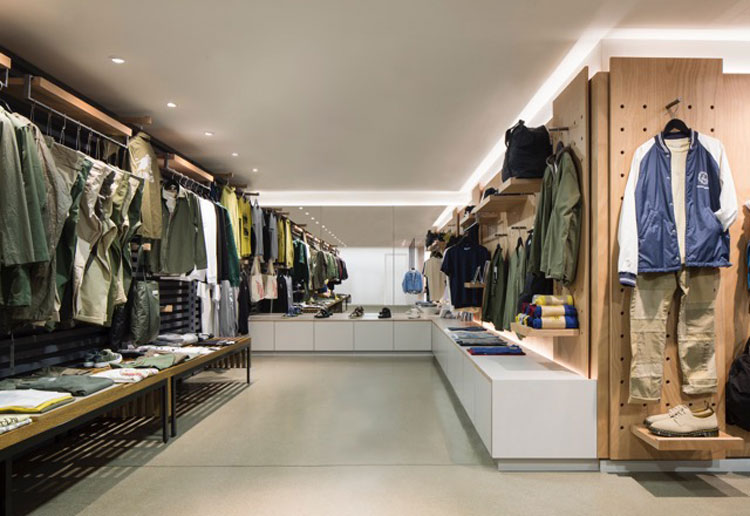 Couverture the garbstore interiors by alexander martin for Martin architects