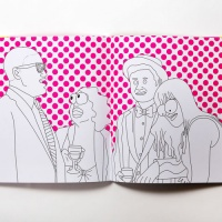 The Broad City Colouring book, by Mike Perry