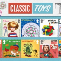 Royal Mail celebrates classic British toys with new stamp series
