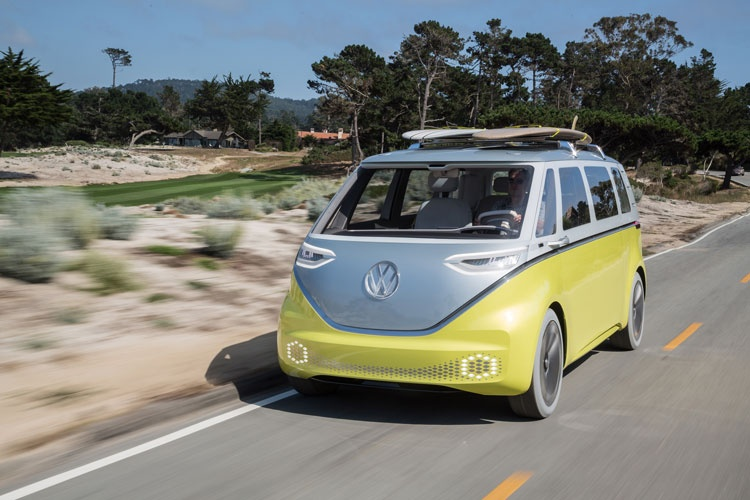 Volkswagen Reimagines VW Camper Van Design Classic For The 21st