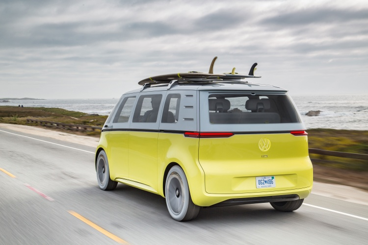 2018 Vw Bus Release Date >> Volkswagen reimagines VW camper van design classic for the 21st century - Design Week