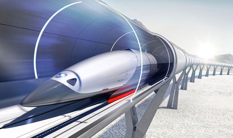 First look at PriestmanGoode's designs for high-speed Hyperloop