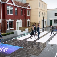 "A responsive, light-up pedestrian crossing that ""puts people first"""