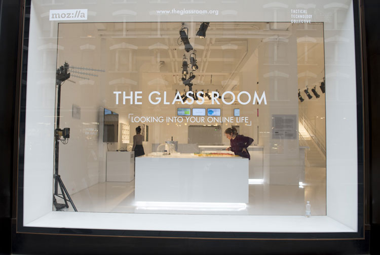 The Glass Room the exhibition uncovering the hidden side of our