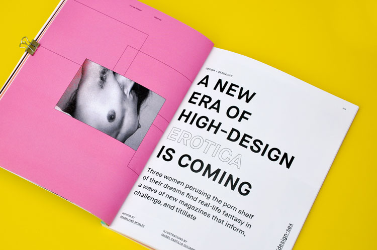 aiga s print magazine aims to be testing ground for design ideas - Graphic Design Ideas