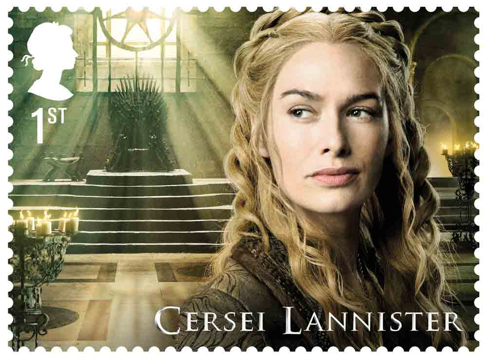 'Game of Thrones'stars in new set of stamps