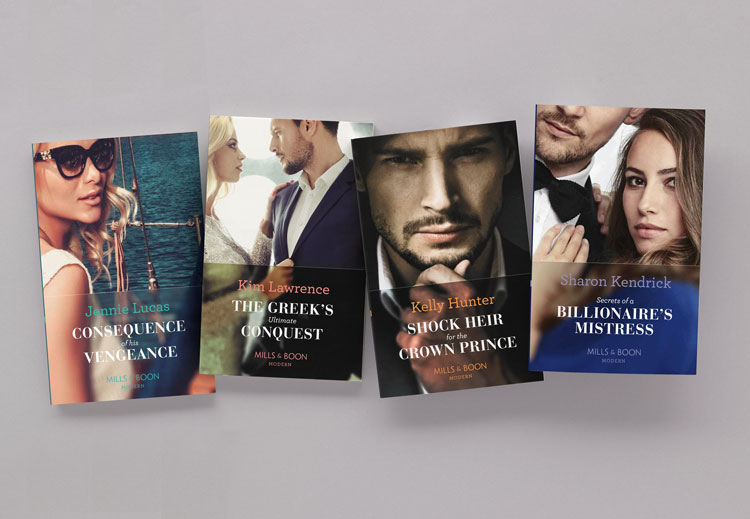 "Pentagram rebrands Mills & Boon to ""reach new romance readers"""
