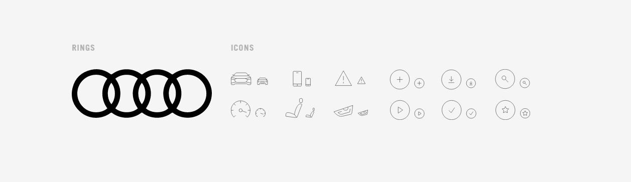 How Audis Digitalfirst Identity Looks To Make Branding - Audi symbol