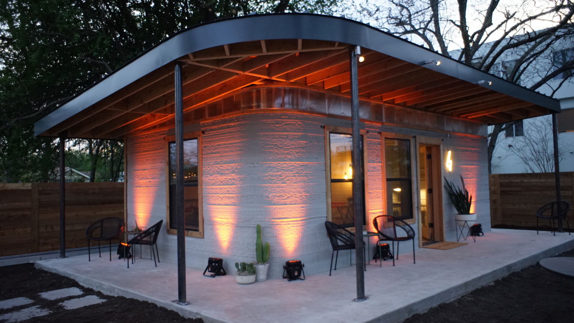 3d printed home built in 24 hours could tackle homelessness for Home 3d