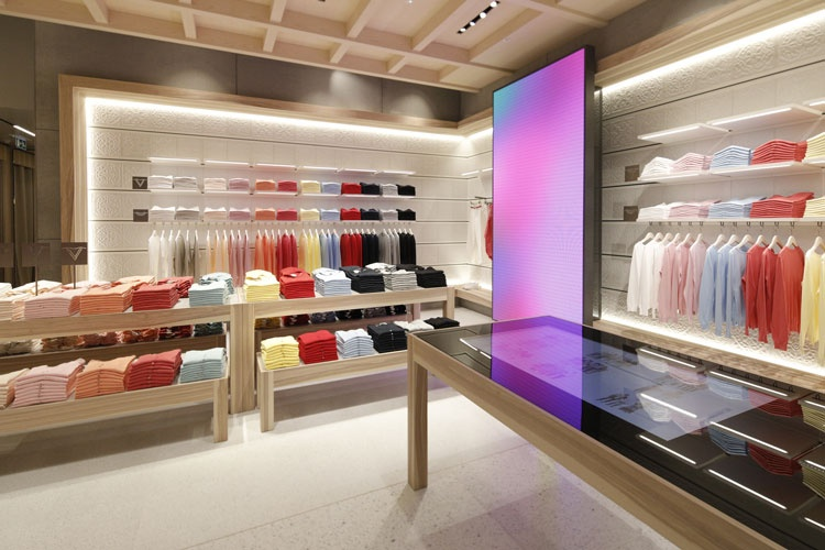 United Colors Of Benetton Opens New London Flagship Store Gorgeous Interior Design Shops Exterior
